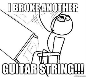 5 Reasons Why Guitar Strings Break | Stringjoy 8
