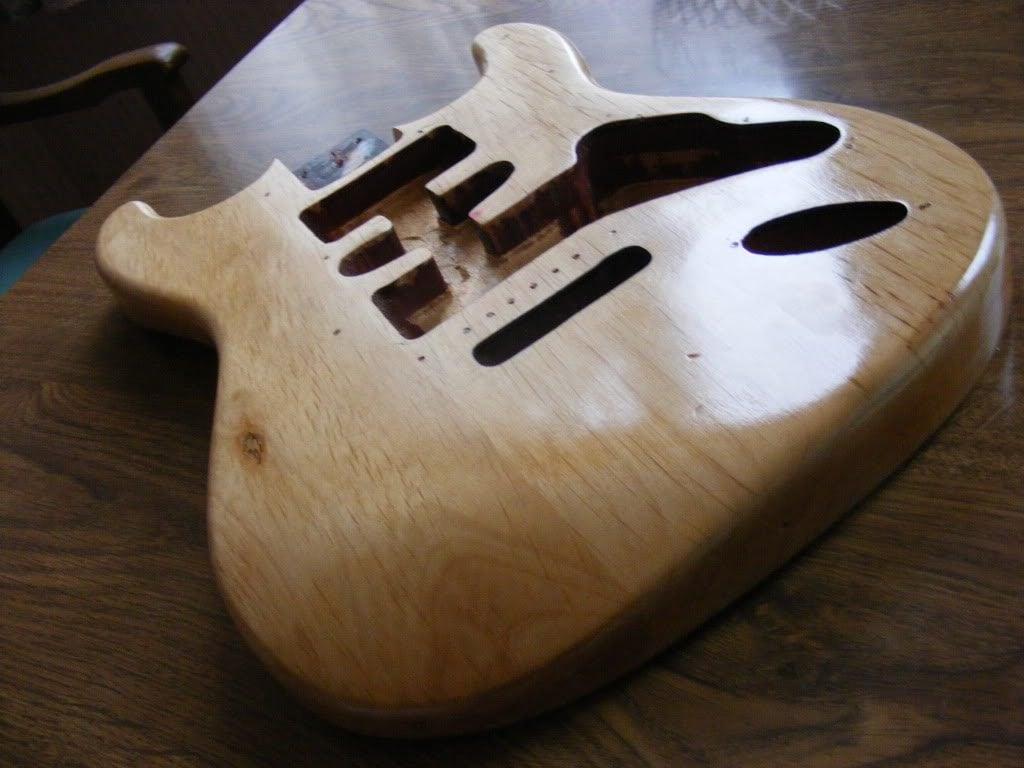 Alder Guitar Body
