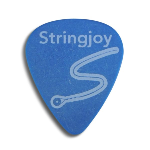 Stringjoy 1.0mm Sky Blue Classic Picks