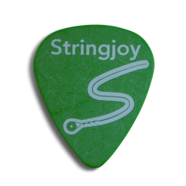 Stringjoy .88mm Neon Green Classic Picks