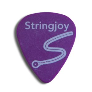 Stringjoy 1.14mm Grape Classic Picks