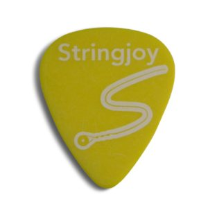 Stringjoy .73mm Highlighter Yellow Classic Picks