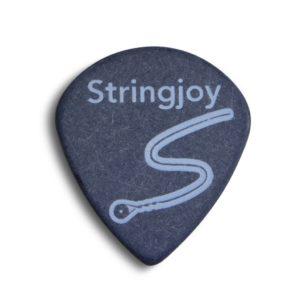 Stringjoy 1.5mm Midnight Black Jumbo Jazz Picks