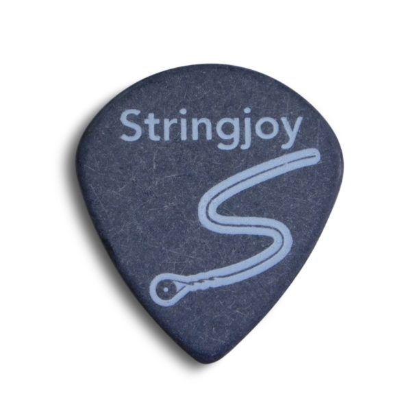 Stringjoy 1.5mm Midnight Black Jumbo Jazz Picks