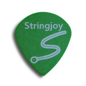Stringjoy .88mm Neon Green Jumbo Jazz Picks
