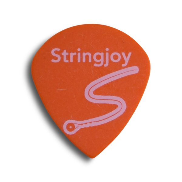 Stringjoy .73mm Highlighter Yellow Jumbo Jazz Picks