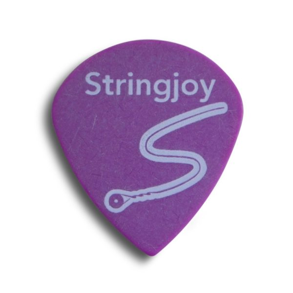 Stringjoy 1.14mm Grape Jumbo Jazz Picks