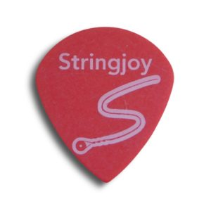 Stringjoy .50mm Bright Red Jumbo Jazz Picks