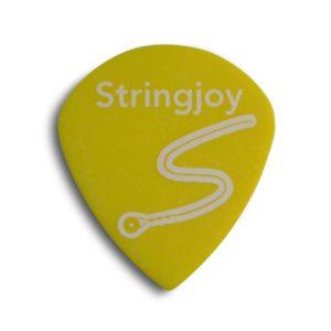 Stringjoy .73mm Highlighter Yellow Jumbo Jazz Picks