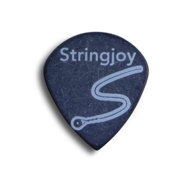Stringjoy 1.5mm Midnight Black Jazz Picks