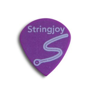Stringjoy 1.14mm Grape Jazz Picks