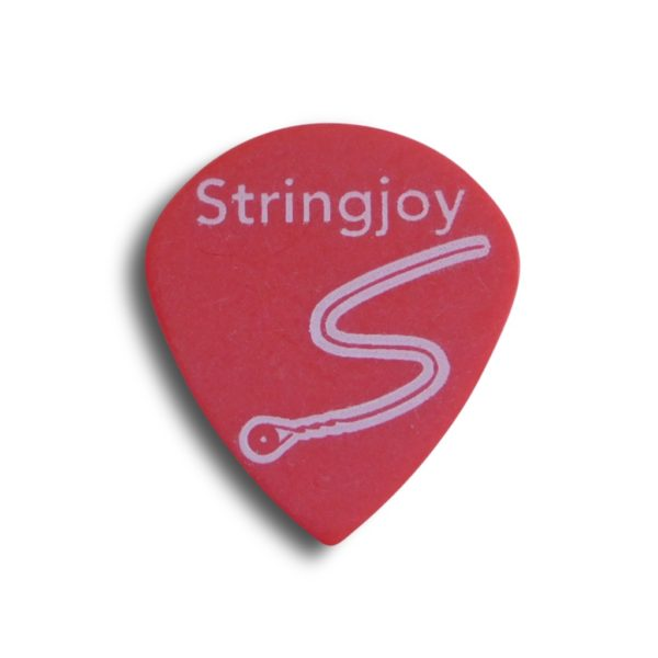 Stringjoy .50mm Bright Red Jazz Picks