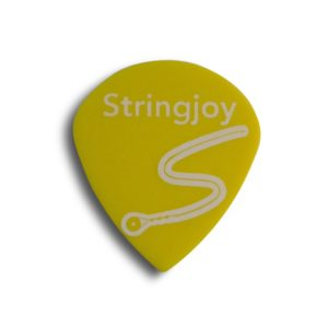 Stringjoy .73mm Highlighter Yellow Jazz Picks