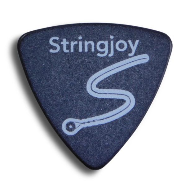 Stringjoy 1.5mm Midnight Black Tri-Tip Picks