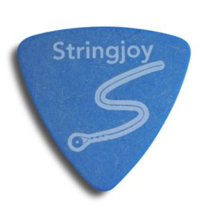 Stringjoy 1.0mm Sky Blue Tri-Tip Picks