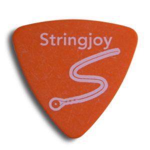 Stringjoy .60mm Orange Soda Tri-Tip Picks