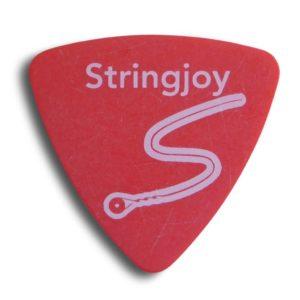 Stringjoy .50mm Bright Red Tri-Tip Picks