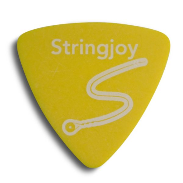 Stringjoy .73mm Highlighter Yellow Tri-Tip Picks