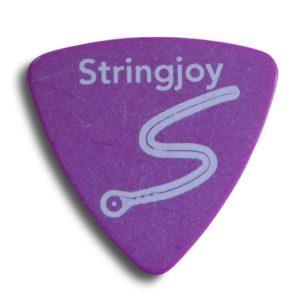 Stringjoy 1.14mm Grape Tri-Tip Picks