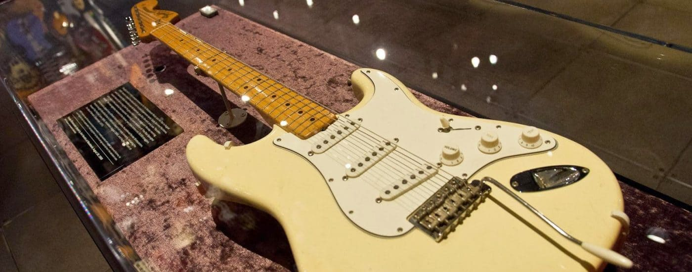 #2 Most Expensive Guitar: Jimi Hendrix's 1968 Fender Stratocaster