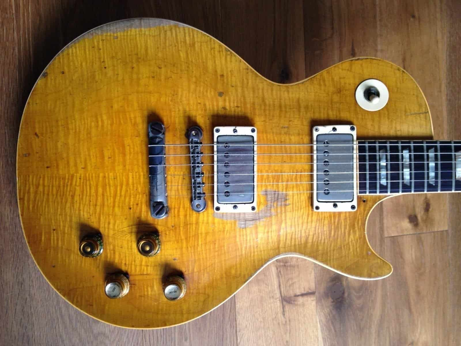 #1 Most Expensive Guitar: Peter Green/Gary Moore's 1959 Les Paul
