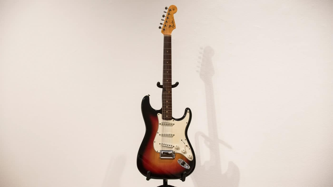 Most Expensive Guitars: Bob Dylan's 1964 Fender Strat