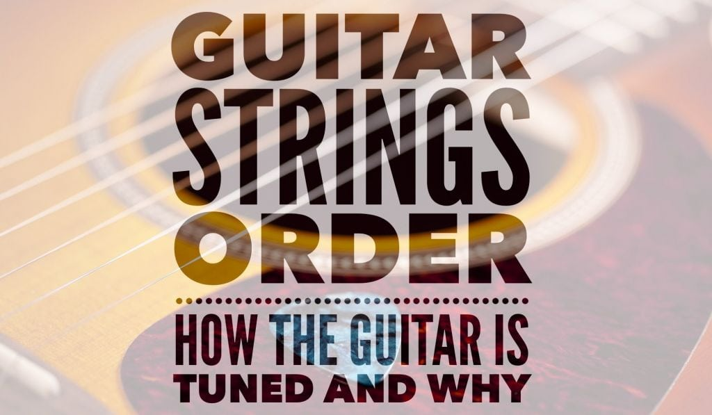 guitar strings order how the guitar is tuned and why stringjoy. Black Bedroom Furniture Sets. Home Design Ideas