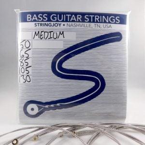 stringjoy light top heavy bottom gauge 45 130 5 string nickel wound bass guitar strings. Black Bedroom Furniture Sets. Home Design Ideas
