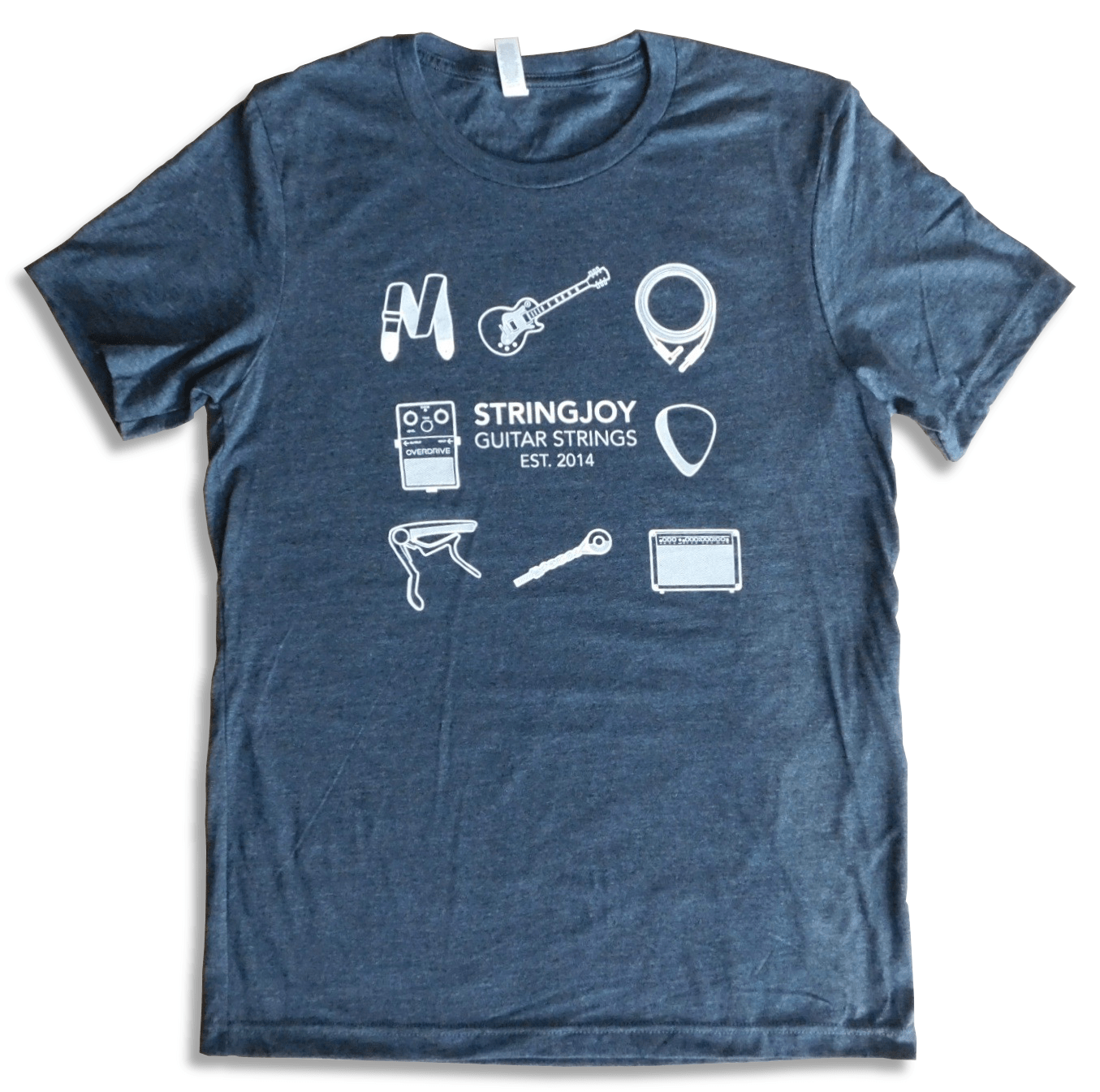 """Stringjoy T-Shirt – """"A Day In The Life"""""""