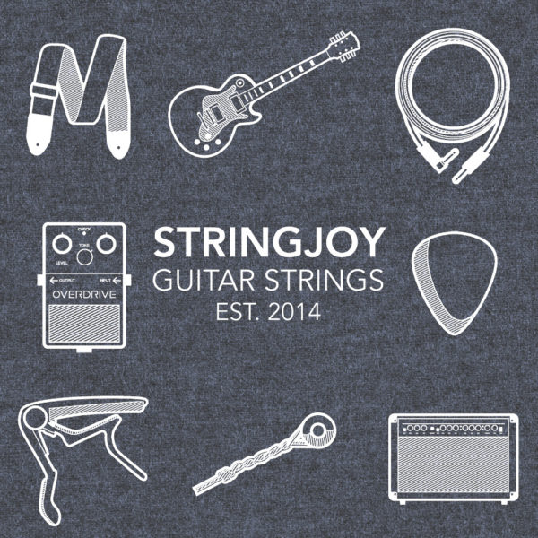 "Artwork Close-up | Stringjoy ""A Day In The Life"" T-Shirt"