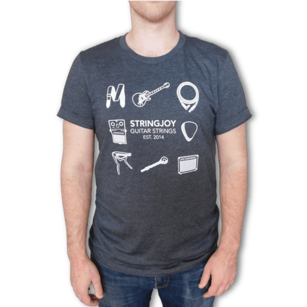 """In Use   Stringjoy """"A Day In The Life"""" T-Shirt"""