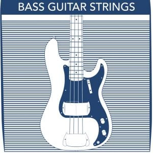 Stringjoy 4 String Bass Guitar Strings
