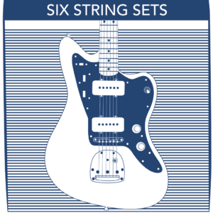 6 String Electric Guitar Strings