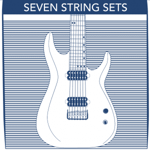 7 String Electric Guitar Strings