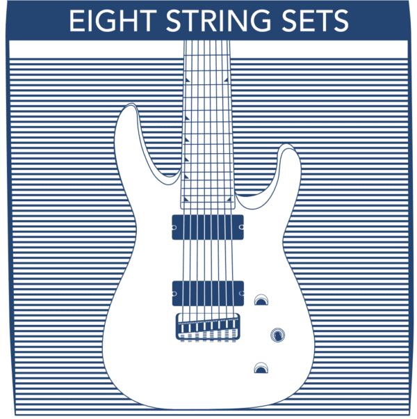 8 String Electric Guitar Strings