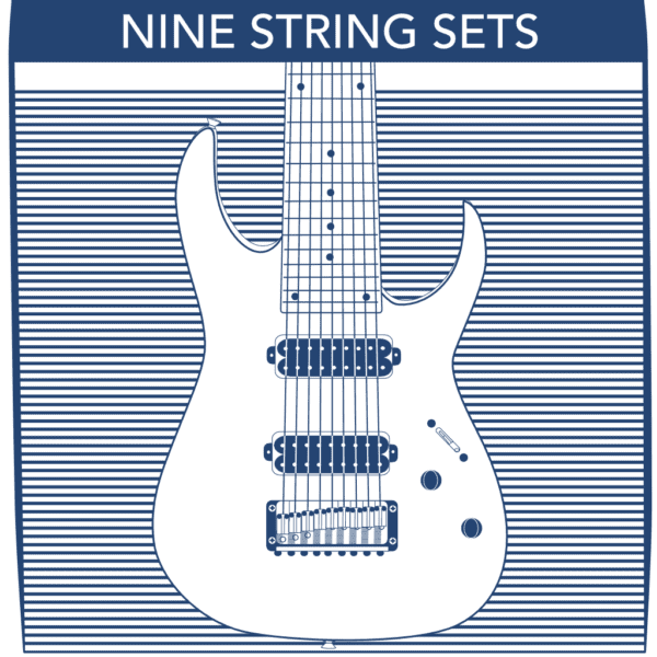9 String Electric Guitar Strings