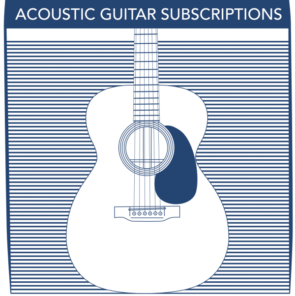 Acoustic Guitar String Subscriptions