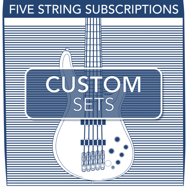 Stringjoy Subscription Custom 5 String Nickel Wound Bass Strings