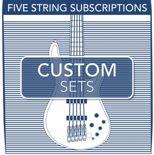 Stringjoy Subscription Custom 5 String Nickel Wound Bass Strings