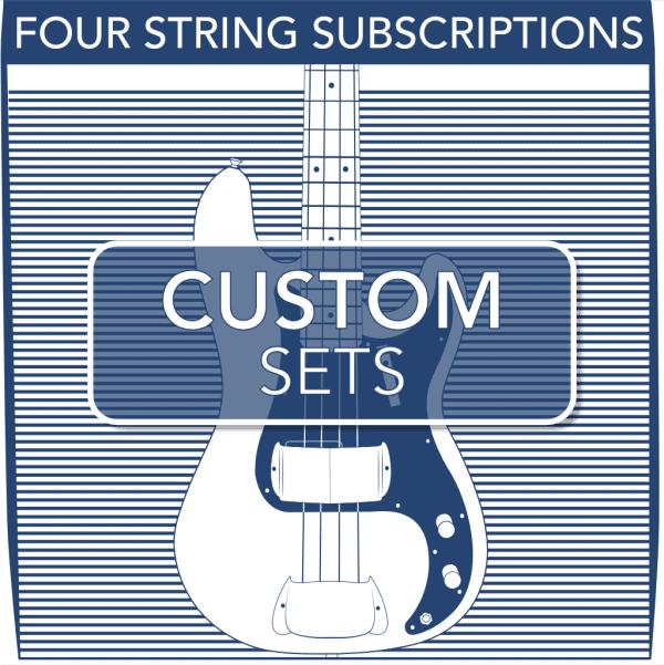 Stringjoy Subscription Custom 4 String Nickel Wound Bass Strings