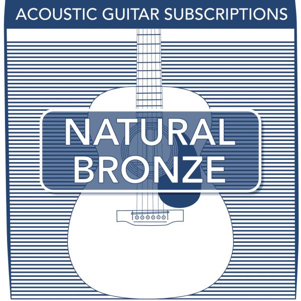 Natural Bronze Acoustic Subscriptions