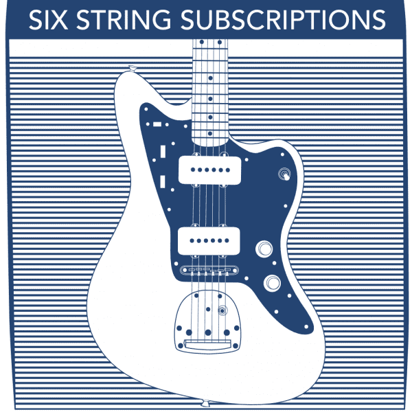 6 String Electric Subscriptions