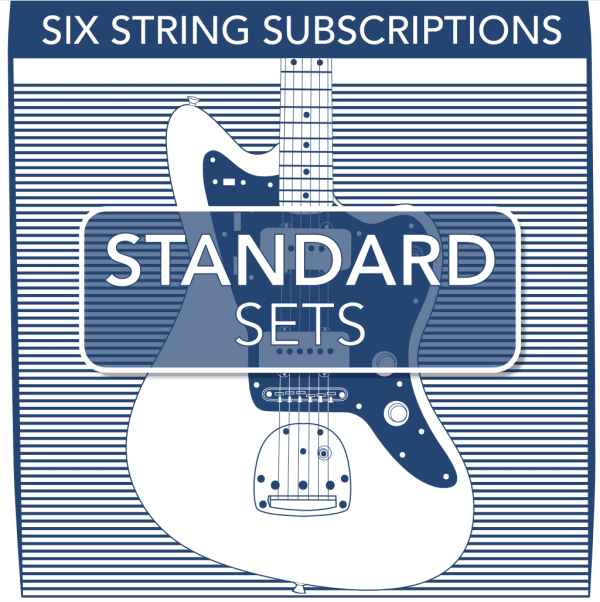 Stringjoy Subscription 6 String Nickel Wound Electric Guitar Strings