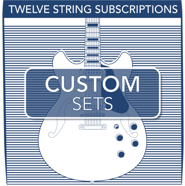 Stringjoy Custom Subscription 12 String Nickel Wound Electric Guitar Strings