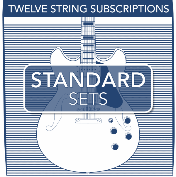 Stringjoy Subscription 12 String Nickel Wound Electric Guitar Strings