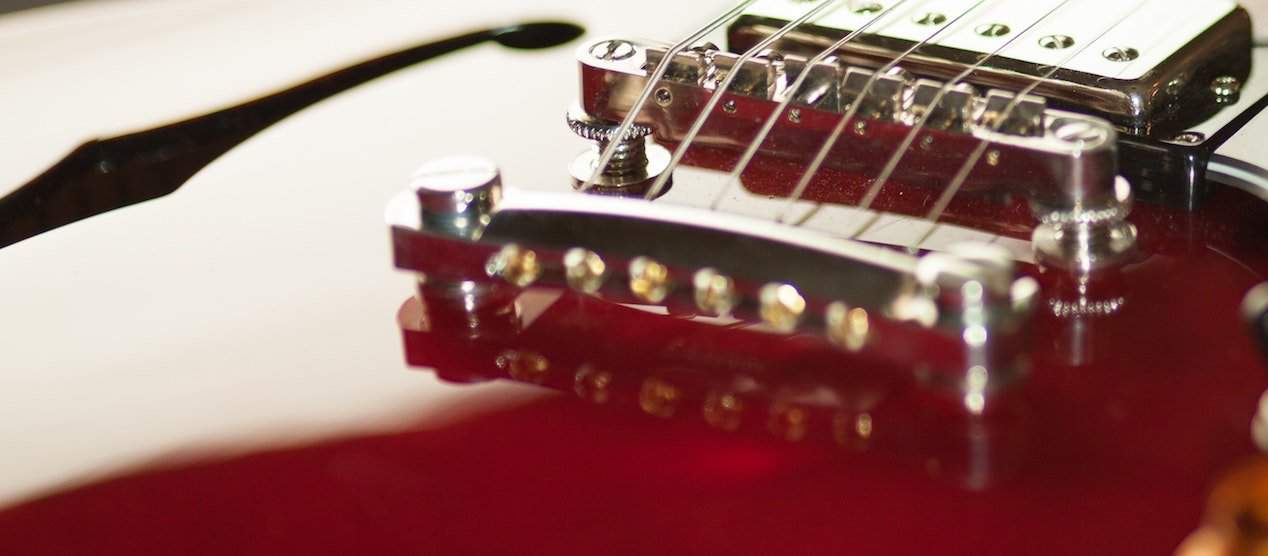 our top guitar string gauges for semi hollow and hollow body guitars