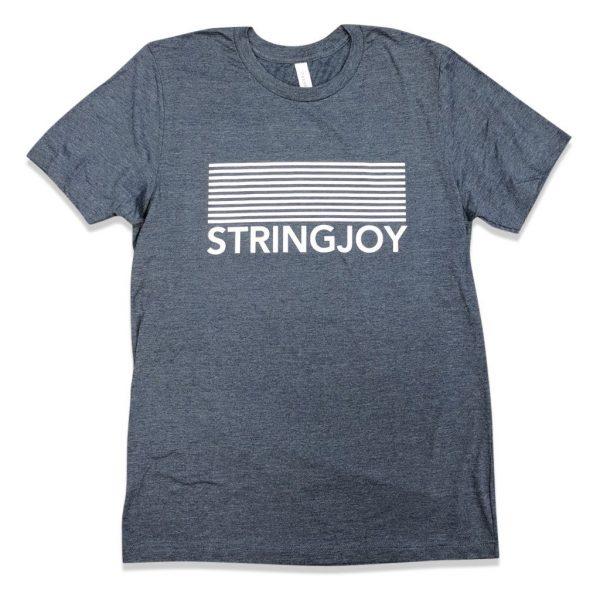 Stringjoy Stripe Logo T-Shirt