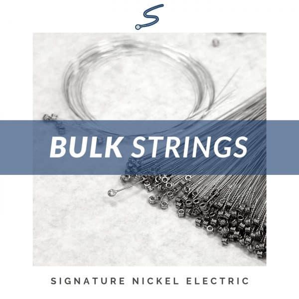 Bulk Nickel Wound & Plain Steel Electric Guitar Strings
