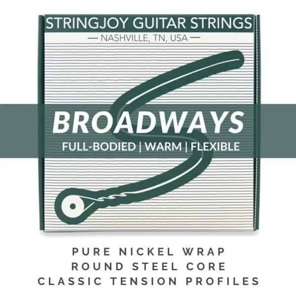 Broadways | Pure Nickel Electric Guitar Strings