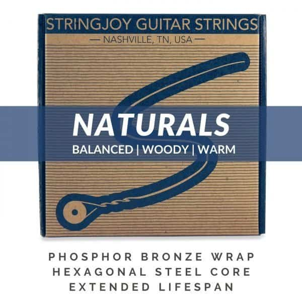 Stringjoy Naturals | Acoustic Subscriptions